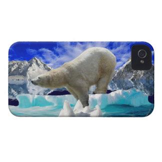 Ijsbeer & NoordpooliPhone 4 van het Ijs Hoesje