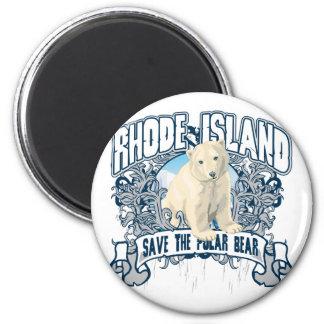 Ijsbeer Rhode Island Magneet