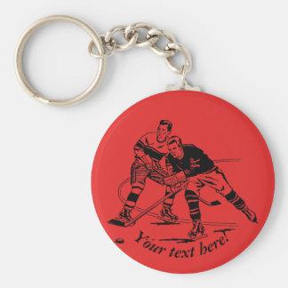 Ijshockey Sleutelhanger