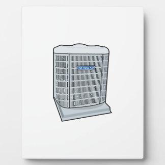 Ijskoude AC van de Eenheid van de Airconditioner Fotoplaat