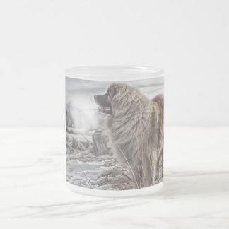 Ijskoude ijzige mok Leonberger