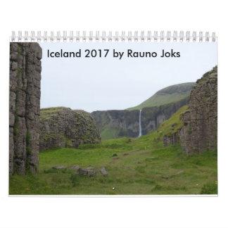 IJsland 2017 door Rauno Joks Kalender
