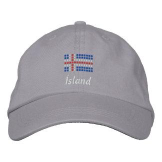Ijslands Pet - het Ijslandse Pet van de Vlag Pet 0