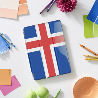 Ijslandse glanzende vlag iPad air cover