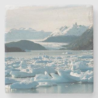 Ijzige Ijsbergen Stenen Onderzetter