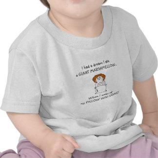 Ik at Mijn T-shirt van de Peuters van het