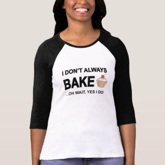 Ik bak… niet altijd oh wacht ja ik! tshirt