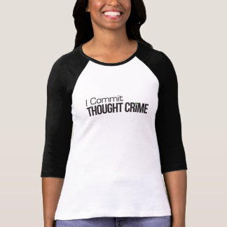Ik bega de Gedachte T-shirt van de Misdaad