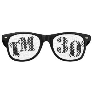 Ik ben 30 - de 30ste Gift van de Prop van de Retro Zonnebril