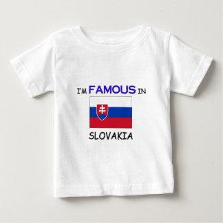 Ik ben Beroemd in SLOWAKIJE Baby T Shirts