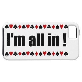 Ik ben binnen allen! iPhone 5 hoesje-Partner Tough iPhone 5 Hoesje
