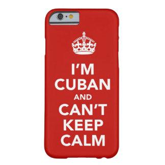 Ik ben Cubaans en ik kan niet Kalm houden Barely There iPhone 6 Hoesje