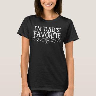 Ik ben Dark van de Dochter van de Papa Favoriete T Shirt
