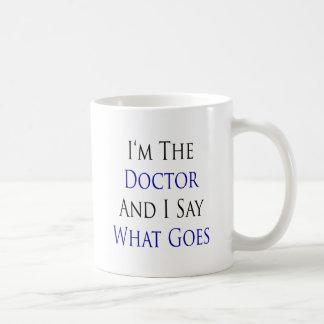 Ik ben de Arts en ik zeg wat gaat Koffie Mok