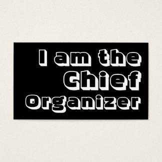Ik ben de Belangrijkste Organisator Visitekaartjes