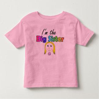 Ik ben de grote zus kinder shirts