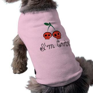 Ik ben de Leuke T-shirt van de Hond van de Schedel