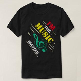 Ik ben de Meester van de Muziek T Shirt