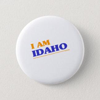 Ik ben de overhemden van Idaho Ronde Button 5,7 Cm
