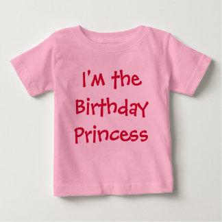 Ik ben de Prinses van de Verjaardag Baby T Shirts