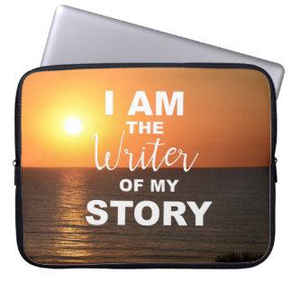 Ik ben de schrijver van mijn verhaal, laptop laptop sleeve
