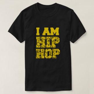 Ik BEN de T-shirt van de Camouflage van HIP HOP