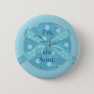Ik ben de Tante Ronde Button 5,7 Cm