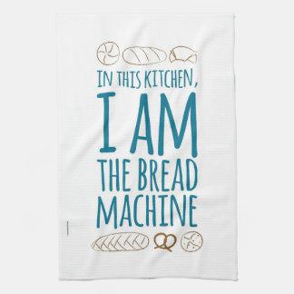 Ik BEN de Theedoek van de Machine van het Brood