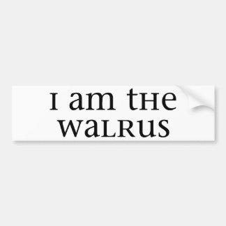 Ik ben de Walrussen Bumpersticker