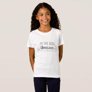 """""""ik ben de Werkgever de Kinder T-shirt, van de T Shirt"""