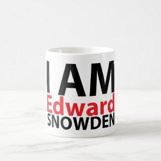Ik ben Edward Snowden Mug Koffiemok