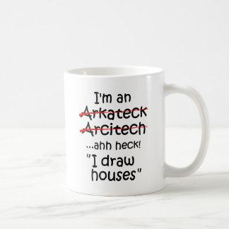 Ik ben een Architect Koffiemok