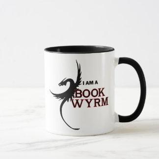 Ik ben een Boek Wyrm (gedrukt beide kanten) Mok