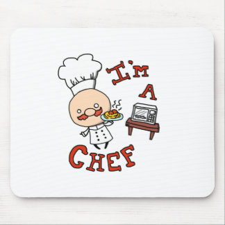 Ik ben een chef-kok! muismat