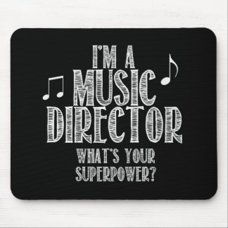 Ik ben een Directeur van de Muziek, wat Uw Muismat
