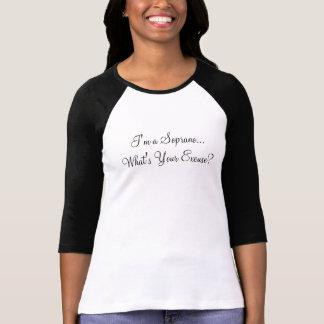 Ik ben een Discant…  Wat is Uw Verontschuldiging? T Shirt