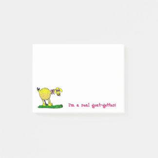 Ik ben een Echte geit-Vangstof Kleverige Nota's Post-it® Notes