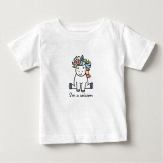 Ik ben een eenhoorn! baby t shirts