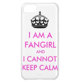 Ik ben een fangirl en ik kan geen kalm iphonehoesj iPhone 5C hoesje