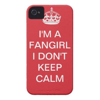 Ik ben een fangirl, houd ik niet kalm iPhone 4 hoesje