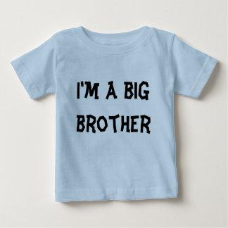 Ik ben een grote broer baby t shirts
