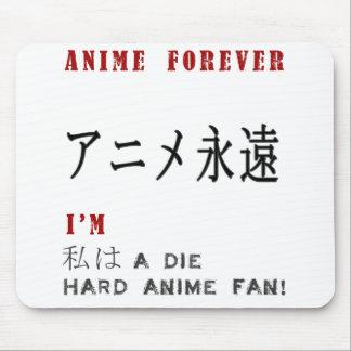 Ik ben een harde animeventilator van de Matrijs Muismatten