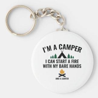 Ik ben een Kampeerauto Sleutelhanger