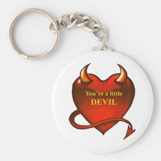 Ik ben een kleine duivel sleutelhanger