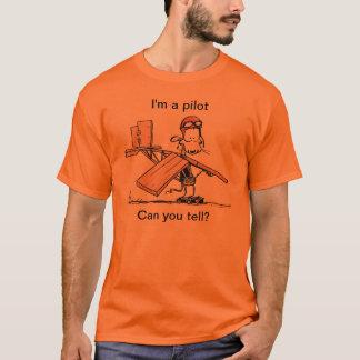 Ik ben een loods kan u vertellen? De Humor van de T Shirt