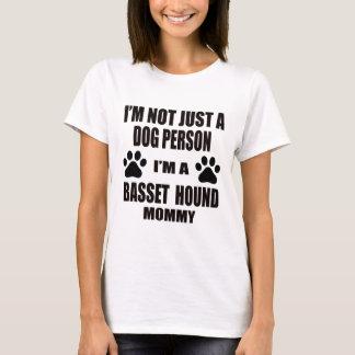 Ik ben een Mama van Basset Hound T Shirt