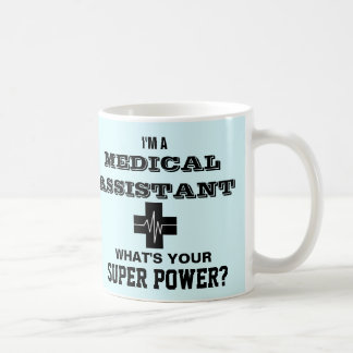 Ik ben een Medische Medewerker wat Uw Super Macht Koffiemok