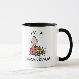 Ik ben een oma-Oma en Baby Mok