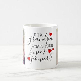 Ik ben een Opa, wat ben Uw Super Macht? Koffiemok
