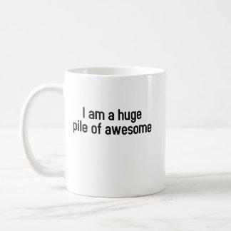 Ik ben een reusachtige geweldige stapel (mok) koffiemok